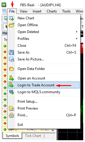 How To Log In To My Trading Account Fbs